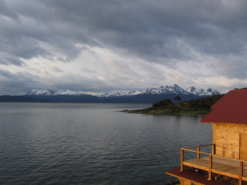 View from window, hotel in Ushuaia